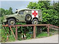 SO3438 : WWII ambulance at Peterchurch by Richard Green