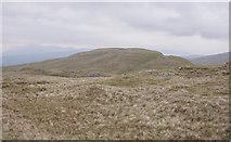 NN2323 : Meall nan Gabhar (743m) from Meall nan Tighearn (739m) by Iain A Robertson