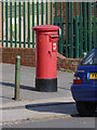 SE3801 : Post Office/18 Wentworth Road Jump postbox ref S74 11 by Alan Murray-Rust
