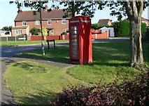 TF5520 : Telephone box in Terrington St Clement by Mat Fascione