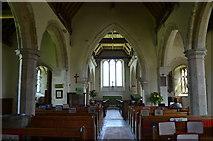 TR1144 : Interior, St James the Great church, Elmstead by Julian P Guffogg