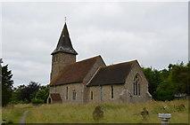 TR1439 : St Mary & St Radegund church, Postling by Julian P Guffogg