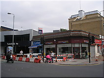 TQ2673 : Earlsfield:  Station entrance by Dr Neil Clifton
