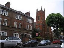 TQ2672 : Earlsfield Baptist Church by Dr Neil Clifton