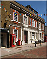 TQ7468 : Former post office, Rochester by Julian Osley