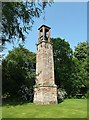 NT6424 : A bell tower at Monteviot House Gardens by Walter Baxter