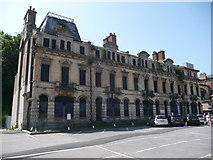 ST1872 : Derelict hotel in Penarth by Jeremy Bolwell