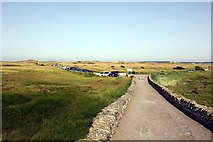 SH3568 : Car Park by the dunes at Aberffraw by Jeff Buck