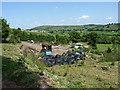SO3997 : Farm debris above Far Gatten by Richard Law