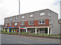 NS3424 : Shops and flats, Prestwick by Richard Dorrell