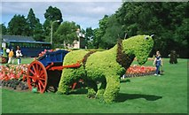 NJ0459 : The magnificent topiary and gardens of Forres by James Denham
