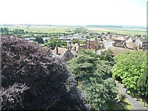 TQ9220 : View south-south-west from Rye Church tower by Christine Johnstone