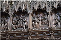 TL5480 : Wooden Carvings, Ely Cathedral by Julian P Guffogg