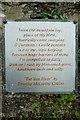 W1247 : Poetry at Ahanafunsion Bridge by Graham Horn