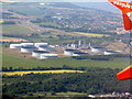 NT1476 : Dalmeny oil storage depot by M J Richardson