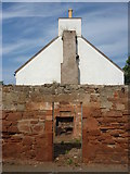 NT6578 : East Lothian Townscape : An Open Fireplace In West Barns by Richard West