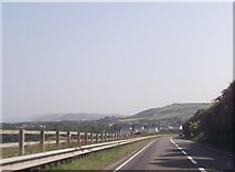 SN5066 : A487 north from Tanrallt by John Firth