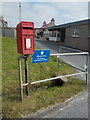 HU4123 : Hoswick: postbox № ZE2 119 by Chris Downer