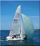 J5182 : Yacht, Bangor Bay by Rossographer