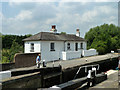 TQ0488 : Widewater Lock and cottage by Robin Webster
