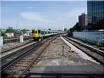 TQ3266 : North of East Croydon Station by Peter Holmes