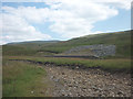 SD7078 : The Apron Full of Stones cairn, Kingsdale by Karl and Ali
