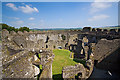 SX1061 : Restormel Castle, Lostwithiel - the shell-keep (3) by Mike Searle