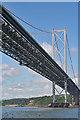 NT1279 : Forth Road Bridge by Anne Burgess