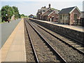 NY5733 : Langwathby railway station, Cumbria by Nigel Thompson