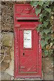 SE2645 : Victorian Postbox, Castley by Mark Anderson