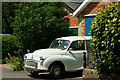 SZ5589 : Traveller at Havenstreet, Isle of Wight by Peter Trimming