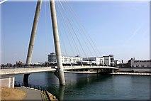 SD3317 : The Marine Way Bridge, Southport by Jeff Buck