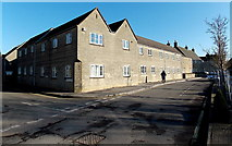 ST8893 : Old Brewery Lane, Tetbury by Jaggery