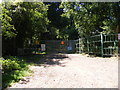 TM3657 : Entrance to Blaxhall Moto Cross by Adrian Cable