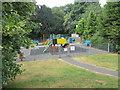 SE0838 : Play Area - Harden Road by Betty Longbottom