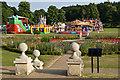 TQ2549 : Funfair, Priory Park by Ian Capper