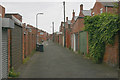 NZ3766 : Back lane, South Shields by David Kemp