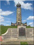 SK3455 : Sherwood Foresters Memorial Crich by DTwigg