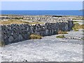 L9305 : Walls and limestone pavement on Inishmaan by Oliver Dixon