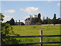 TL1798 : View of Thorpe Hall, Longthorpe, from footpath in Thorpe Park by Paul Bryan