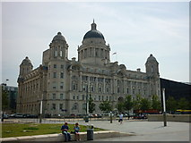 SJ3490 : Port of Liverpool Building by Carroll Pierce