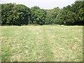 SU9197 : Footpath to Beamond Wood by michael