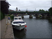 SK7954 : River Trent and Trent Bridge, Newark by JThomas