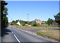 TM3489 : B1435 Beccles Road, Bungay by Adrian Cable