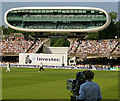 TQ2682 : The Media Centre, Lord's Cricket Ground by Hugh Chevallier