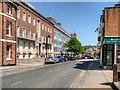 SZ5089 : Newport High Street, County Hall by David Dixon