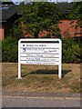 TM3488 : Bungay Fire Station sign by Adrian Cable