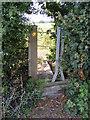 TM3085 : Stile & footbridge of footpath by Adrian Cable