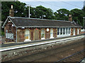 NS3477 : Cardross railway station by Thomas Nugent