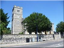 TQ7369 : St Nicholas with St Mary Church, Strood by Marathon